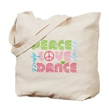 Cute Dancer Tote Bag