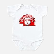 Lincoln Baseball Infant Bodysuit