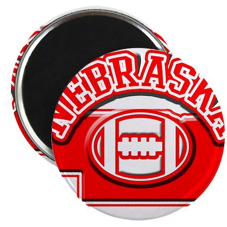 """Nebraska Football 2.25"""" Magnet (100 pack)"""
