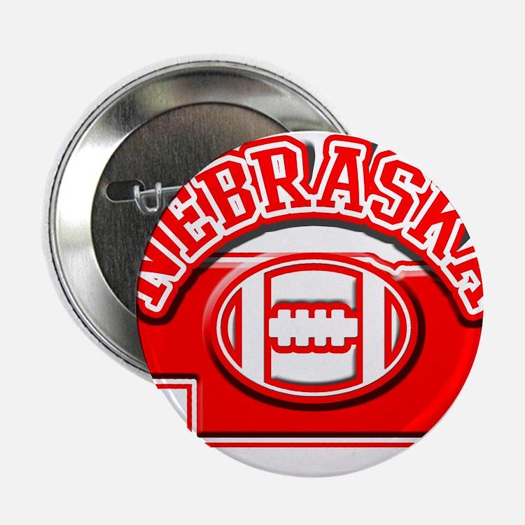 "Nebraska Football 2.25"" Button"