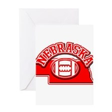 Nebraska Football Greeting Card