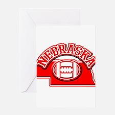 Nebraska Football Greeting Card