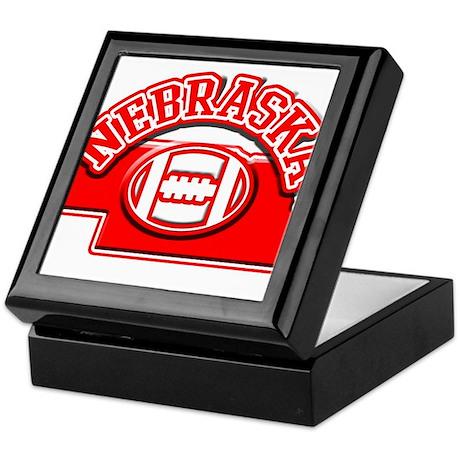 Nebraska Football Keepsake Box