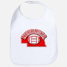 Nebraska Football Bib