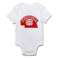Nebraska Football Infant Bodysuit
