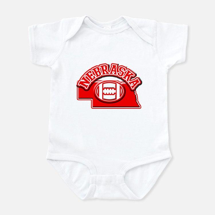 Nebraska Football Infant Bodysuit