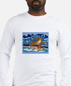 SURF CAT Long Sleeve T-Shirt