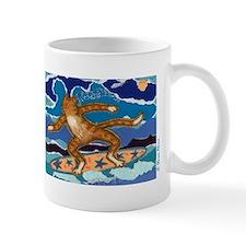 SURF CAT Small Mug