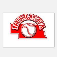Nebraska Baseball Postcards (Package of 8)