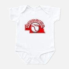 Nebraska Baseball Infant Bodysuit