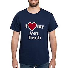 T-Shirt - I love my Vet Tech