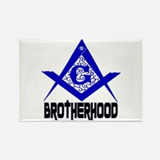 Freemason BROTHERHOOD Rectangle Magnet