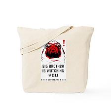 PUG Big Brother is Watching Tote Bag
