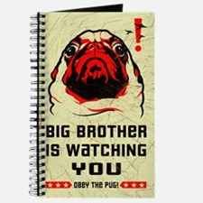 PUG- Big Brother is Watching YOU! Journal