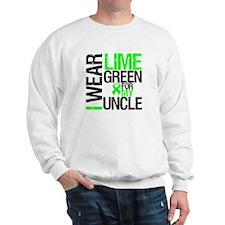 I Wear Lime Green Uncle Sweatshirt
