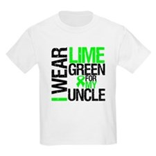 I Wear Lime Green Uncle T-Shirt