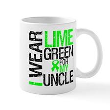 I Wear Lime Green Uncle Mug