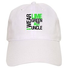 I Wear Lime Green Uncle Baseball Cap