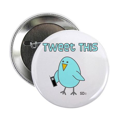 "Tweet This 2.25"" Button (100 pack)"