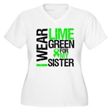 I Wear Lime Green For My Sister T-Shirt