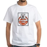 Southern california Mens White T-shirts