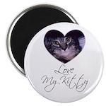 LOVE M Y KITTY Magnet