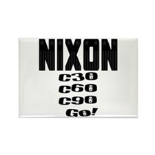 Nixon Watergate Rectangle Magnet