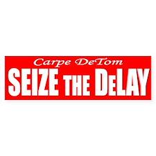 Seize the DeLay Bumper Bumper Sticker