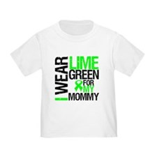 I Wear Lime Green Mommy T