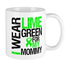 I Wear Lime Green Mommy Mug