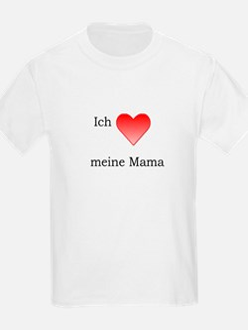 Ich liebe meine Mama Kids T-Shirt