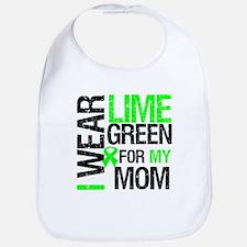 I Wear Lime Green For My Mom Bib