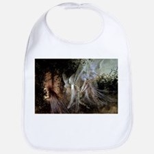 Fairies Watching At Forest Edge Baby Bib