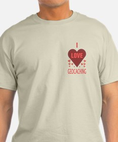 I Love Geocaching T-Shirt