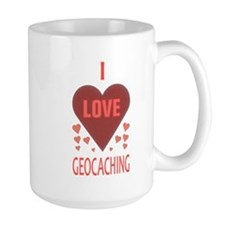 I Love Geocaching Mug