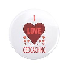 "I Love Geocaching 3.5"" Button"