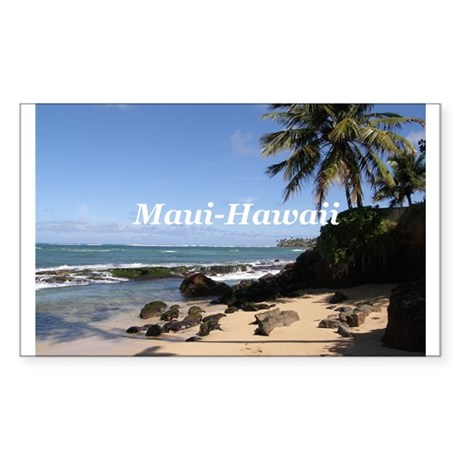Great Gifts from Maui Hawaii Rectangle Sticker