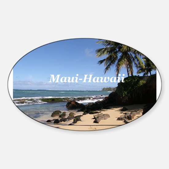 Great Gifts from Maui Hawaii Oval Decal