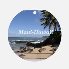 Great Gifts from Maui Hawaii Ornament (Round)