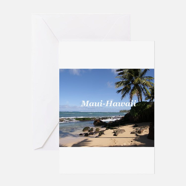 Great Gifts from Maui Hawaii Greeting Card