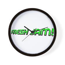 fresh jam! Wall Clock