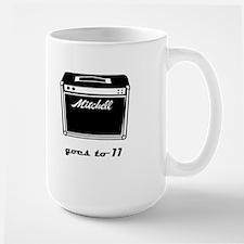 goes to 11 Large Mug