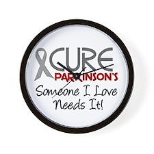 CURE Parkinson's Disease 2 Wall Clock