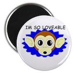 IM SO LOVEABLE Magnet