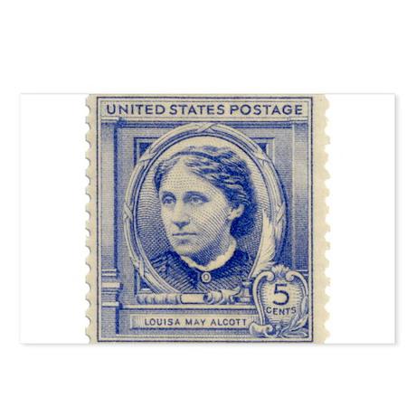 Louisa May Alcott Postcards (Package of 8)