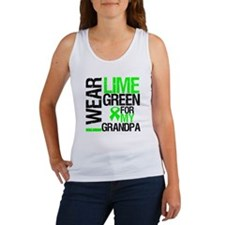 I Wear Lime Green Grandpa Women's Tank Top