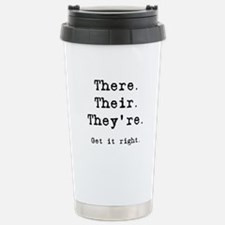 There Their They're Travel Mug