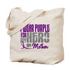 I Wear Purple For My Hero 3 (Mother) Tote Bag
