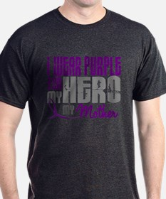 I Wear Purple For My Hero 3 (Mother) T-Shirt