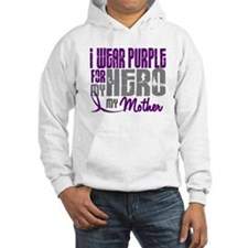 I Wear Purple For My Hero 3 (Mother) Hoodie
